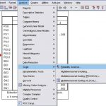 Analysis Cronbach's alpha reliability in SPSS